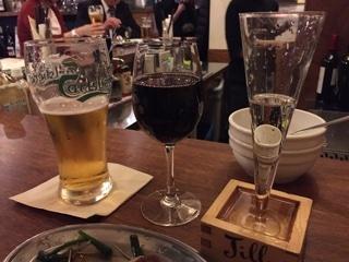 赤ワイン追加(マルベック グラス)