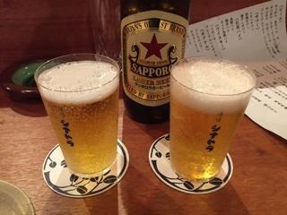 サッポロラガー大瓶