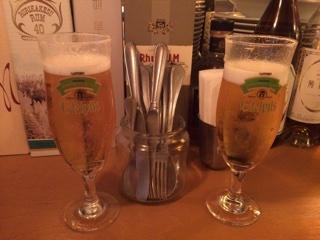 生ビール(サッポロ エーデルピルス)