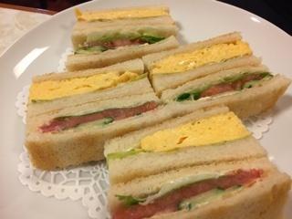 サンドゥイッチ(玉子・野菜)