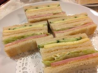 サンドゥイッチ(ハム・チーズ)