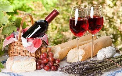 ワインとぱん