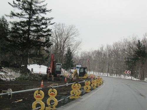 s-道路拡張工事
