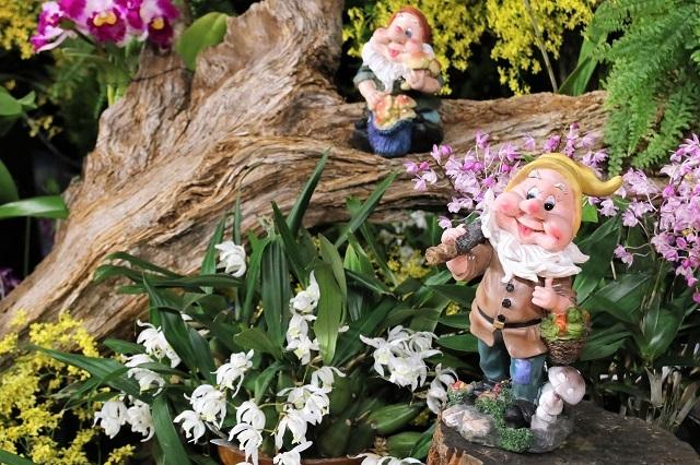 森の妖精と小人たち