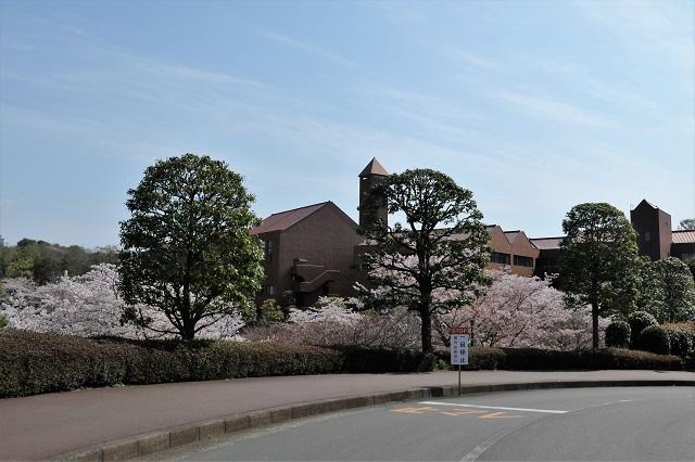 文教大学 湘南キャンパス 入口