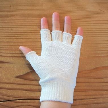 ライブコットン・スパンシルク指先フリー手袋4