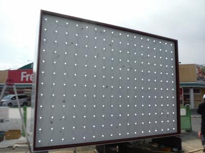 LEDモジュール点灯試験