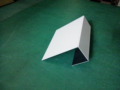 アルミ曲加工プレート2