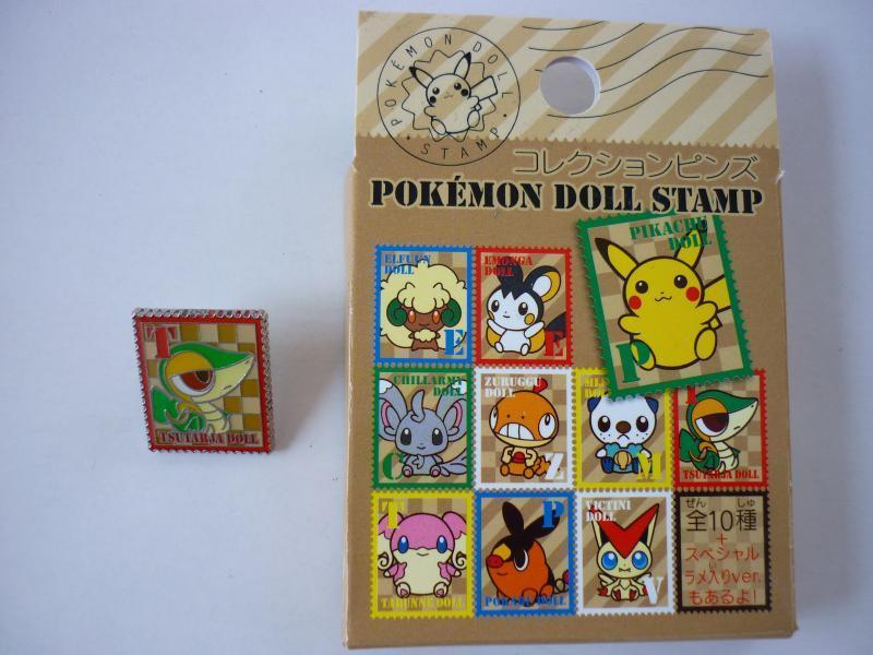 DOLL STAMP コレクションピンズ 箱