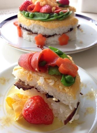 寿司ケーキ1