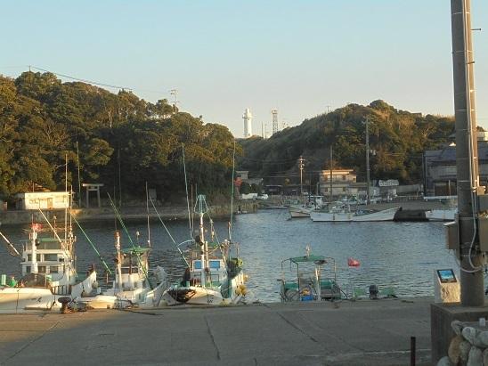 ②波切漁港