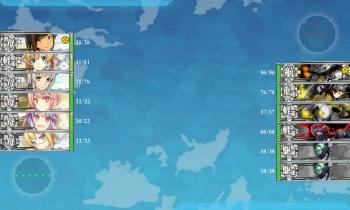 6-1-M 中部哨戒任務昼戦
