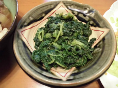 2.13菜花の胡麻和え