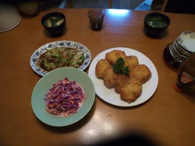 3.31夕食