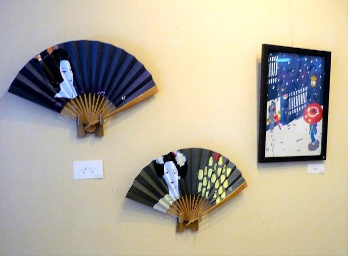 2017年暢さん個展「梅と六人の女」その1