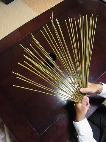 メドハギ・筮竹 (3)