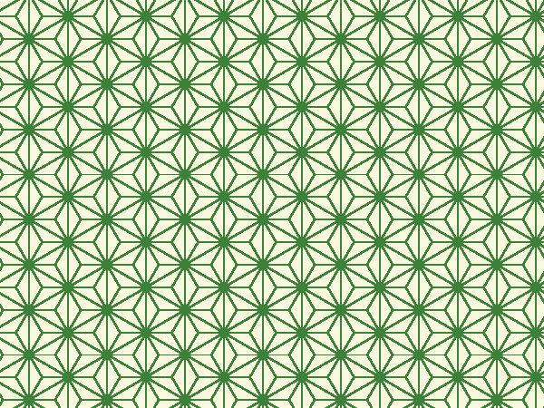 ヒプノセラピー スピリチュアルライフ 麻の葉柄 麻の葉模様