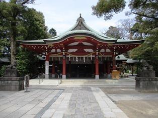 越ケ谷久伊豆神社
