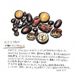4種のナッツのチョコレート