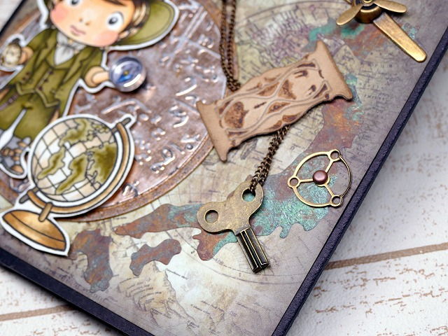 La-La Land Crafts.World Traveler Luka-Card Making