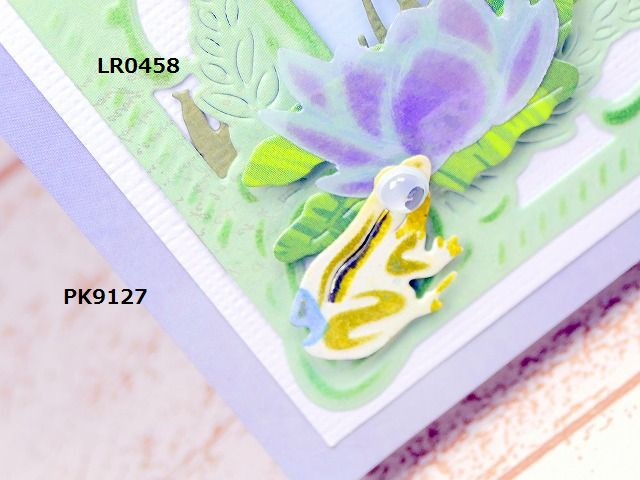 「Waterlily Card 2」