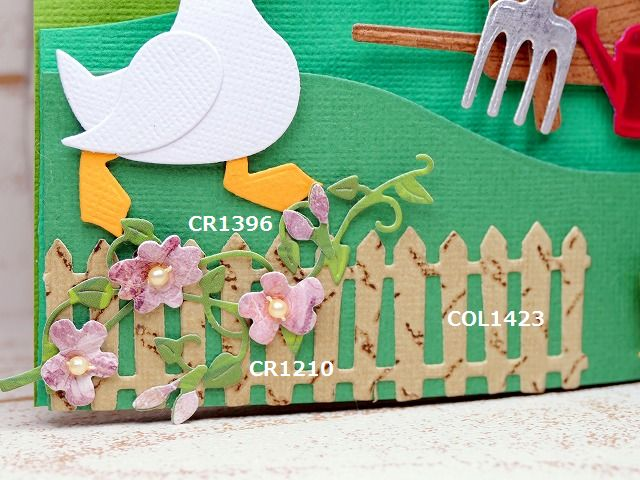 Marianne Design - April 2017 Releases CR1402 COL1428 COL1427