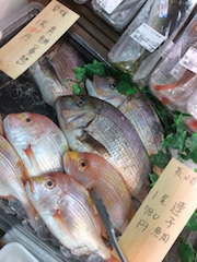 スーパーの真鯛