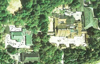 金剛峯寺航空写真
