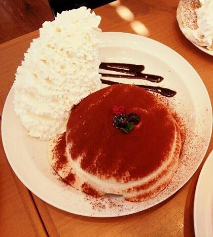 ティラミスなパンケーキ