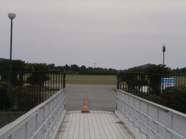 柳島浄水場の上