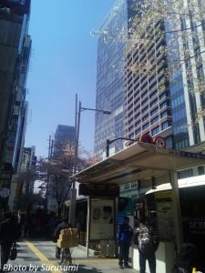 東京-成田 高速バス乗り場