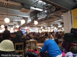成田第3ターミナル2F フードコート