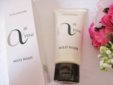 乾燥・敏感肌、ゆらぎ肌、天然成分の保湿洗顔石鹸!しっとり潤いを与え、バリア機能に【アルファピニ28 マイルドウォッシュ】