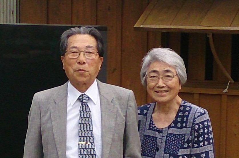 牧師紹介上原和雄時江