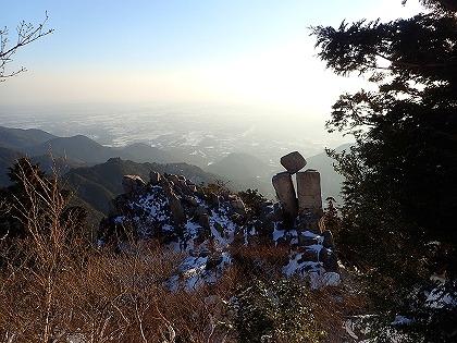 20170122御在所御来光山行14