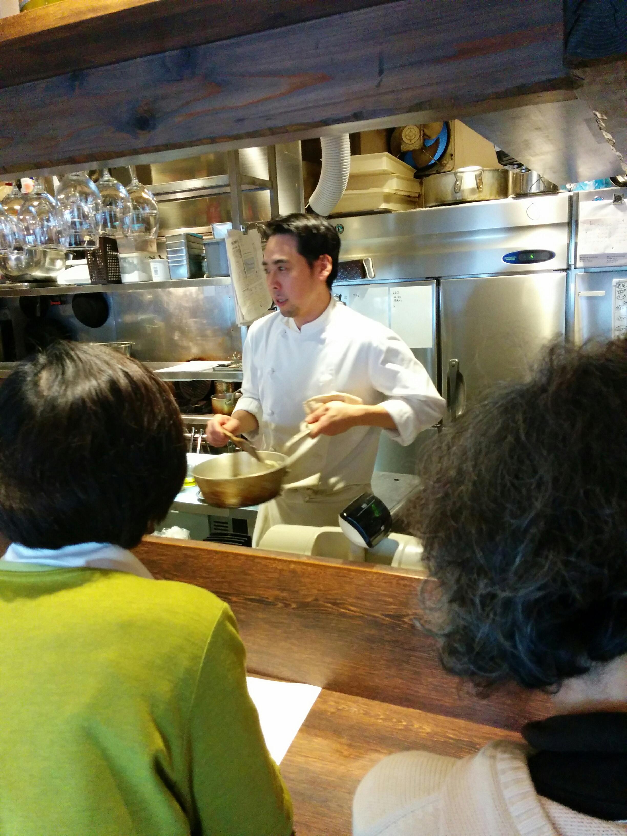 ブラッスリーポー 料理教室1