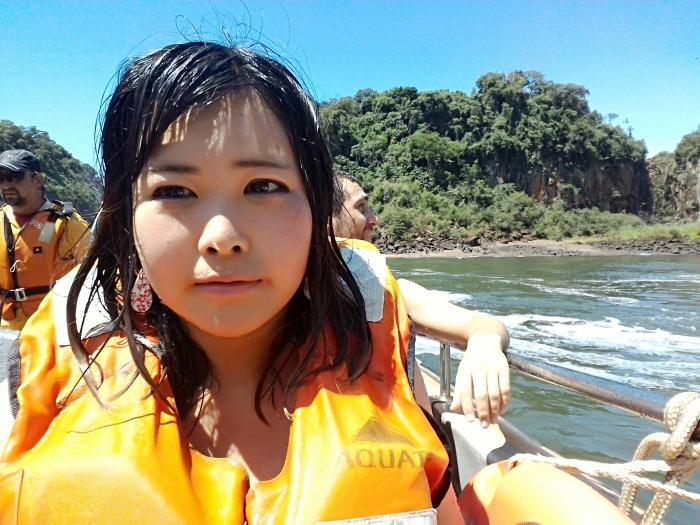 イグアスの滝セルフィー (1)