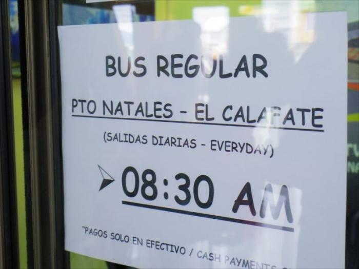 プエルトナタレスからエルカラファテs (2)