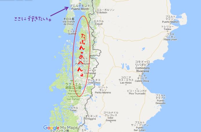 プエルトモン目的地MAP