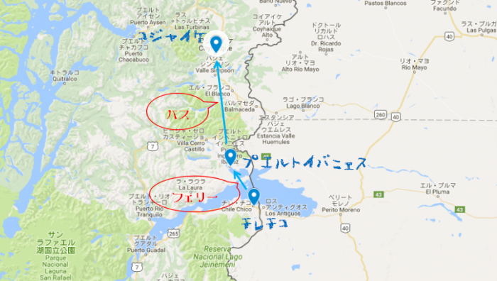 コジャイケ移動MAP
