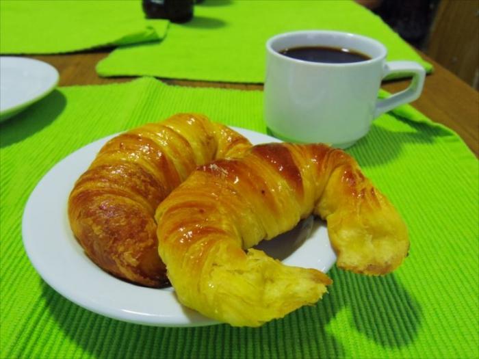 BA宿の朝食 (1)