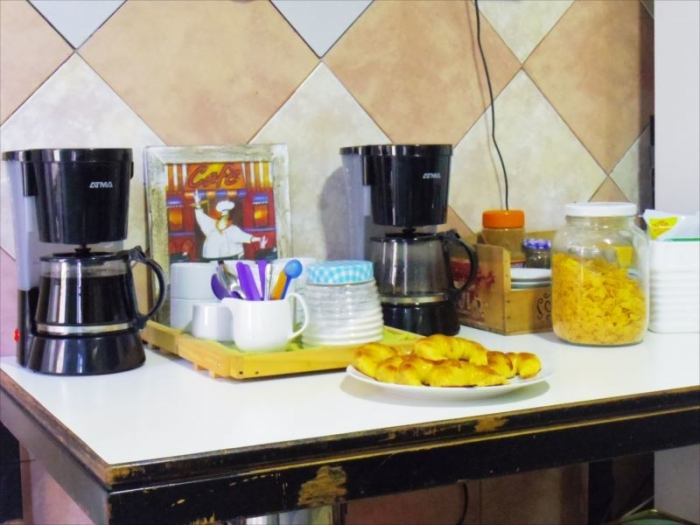 BA宿の朝食 (3)