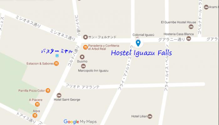 アルゼンチン宿MAP3