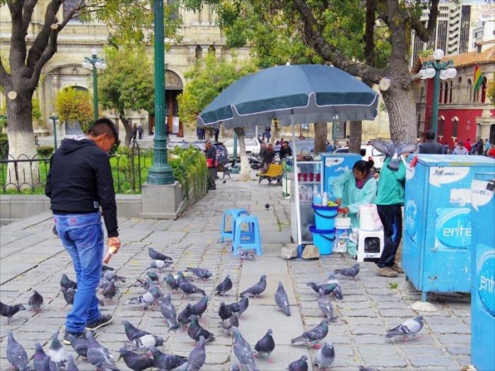 ラパスの街歩き (4)
