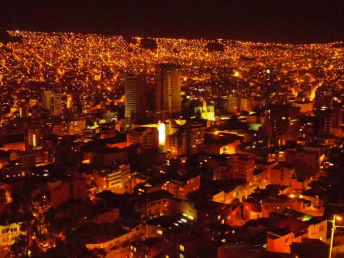 ラパス夜景 (2)