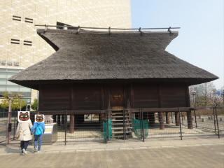 大阪歴史博物館高床式倉庫