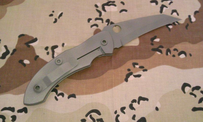 ウォーレン・トーマス チタン大型ナイフ