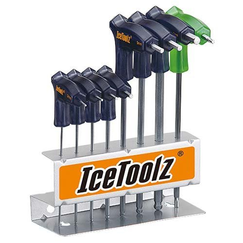 アイスツール(IceToolz) 7M85 T型ツインヘッドレンチセット