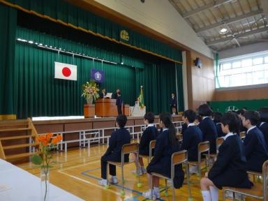 第10回杜の里小卒業式