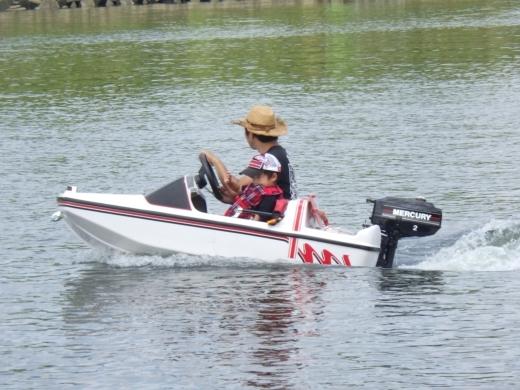 ボート狭い